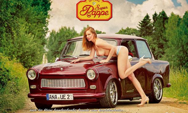 Erotik Kalender 2015 Trabant Girls Super Pappe DDR Juni