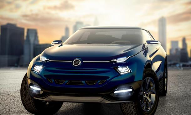 Fiat FCC4 Concept Coupé-Studie Viertürer Sao Paulo Motor Show 2014 Limousine