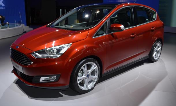 Ford C-Max Facelift Bilder Autosalon Paris 2014