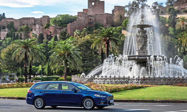 Ford Mondeo Turnier 1.5 EcoBoost 2015 Test Fahrbericht
