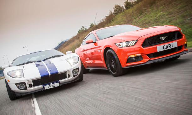 Ford Mustang GT 2015 Ford GT Faszination Sportwagen Vergleich