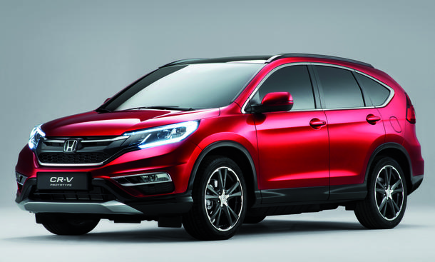 Honda CR-V Facelift 2014 Pariser Autosalon Diesel Kompakt-SUV Neungang-Automatik