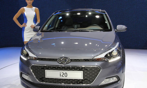 Hyundai Verkaufszahlen 2014 Umsatz Entwicklung drittes Quartal