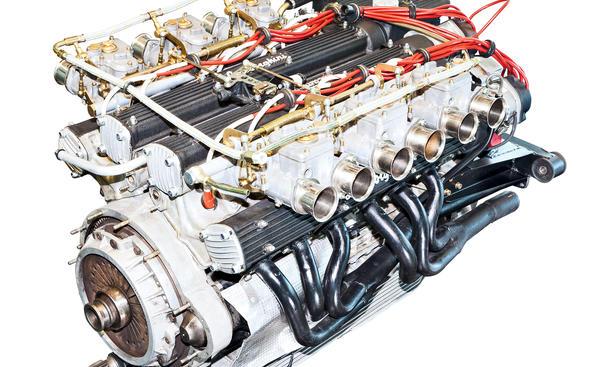Lamborghini V12 Countach Motor Technik Bilder