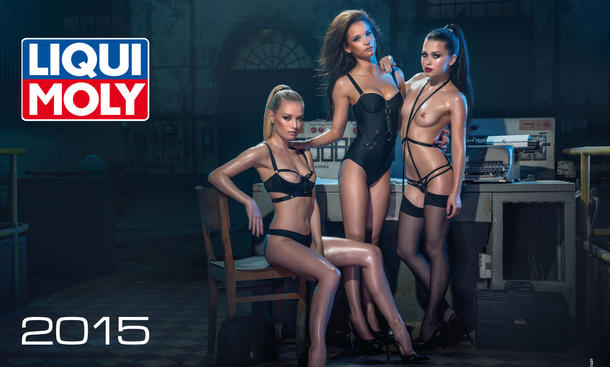 Liqui Moly Kalender 2015 Erotik Cars and Girls Pin Up Tuning