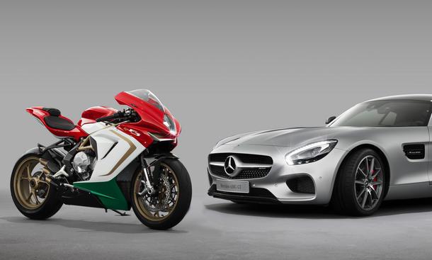 MV Agusta Mercedes AMG Motorrad Kooperation 2014 25 Prozent Anteile