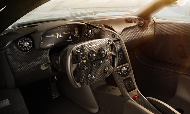 McLaren P1 GTR Interieur Supersportler Hybrid 0002