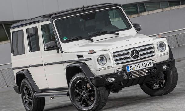 Mercedes G-Klasse Edition 35 Jahre Jubilaeum Sondermodell