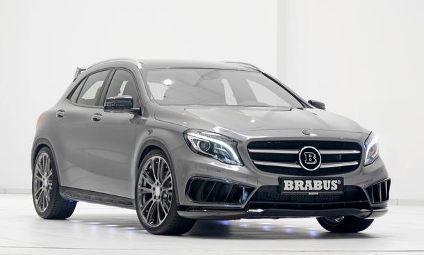 Mercedes GLA Tuning Brabus Kompakt-SUV X 156 Crossover