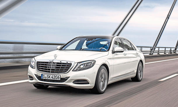 Mercedes S 500 Plug-In Hybrid Luxusklasse Limousine Test Fahrbericht