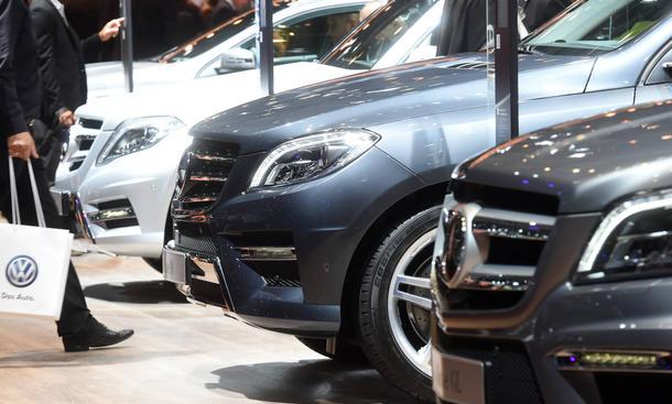 Mercedes Verkaufszahlen September 2014 BMW Audi Absatz weltweit