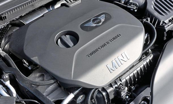 Mini Cooper Fünftürer 2014 Test Dreizylinder Motor