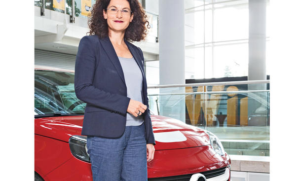 Opel Tina Müller Interview Neuheiten Marketing Strategie Zukunft