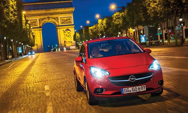 Opel Corsa E Fahrbericht Kleinwagen Bilder technische Daten