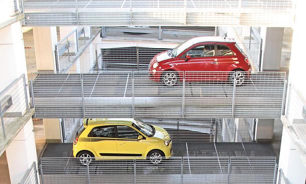 Renault Twingo Fiat 500 2014 Kleinwagen Vergleichstest