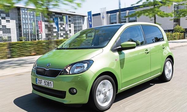 Skoda Citigo Green-Tec ASG Automatik-Getriebe