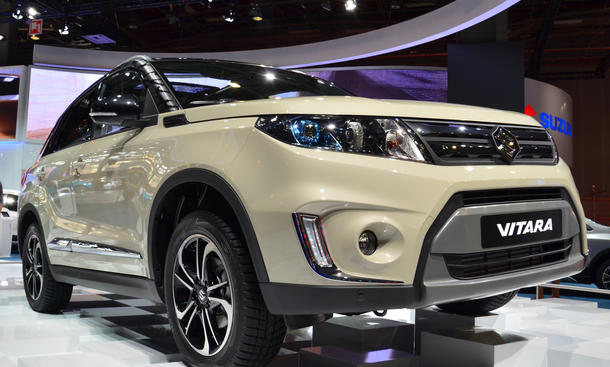 Suzuki Vitara 2015 Premierte Paris 2014 Live Bilder SUV