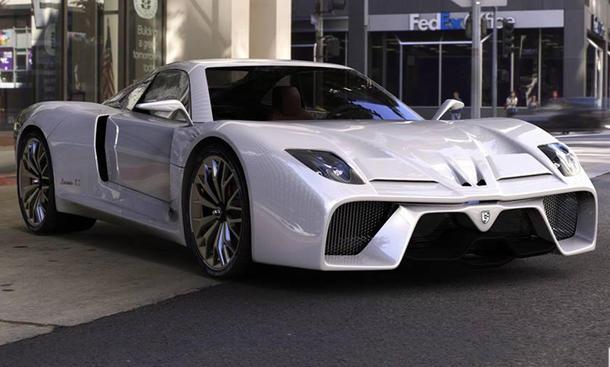 Tecnicar Lavinia SE 2014 Elektro Supersportler Elektroauto Studie