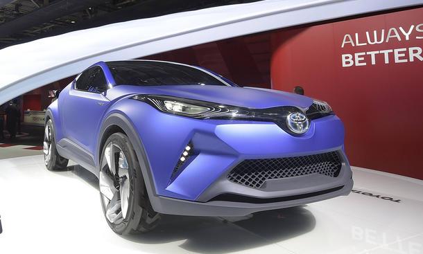 Toyota C-HR Concept Pariser Autosalon 2014 Crossover Coupé Live-Bilder Studie Neuheiten