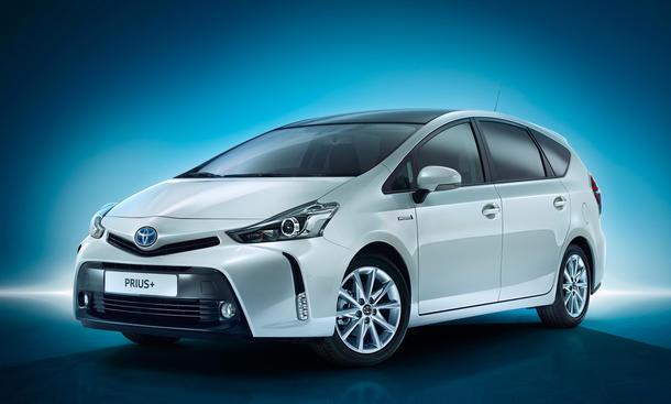 Toyota Prius + Facelift 2015 Hybrid-Van Siebensitzer Familienauto