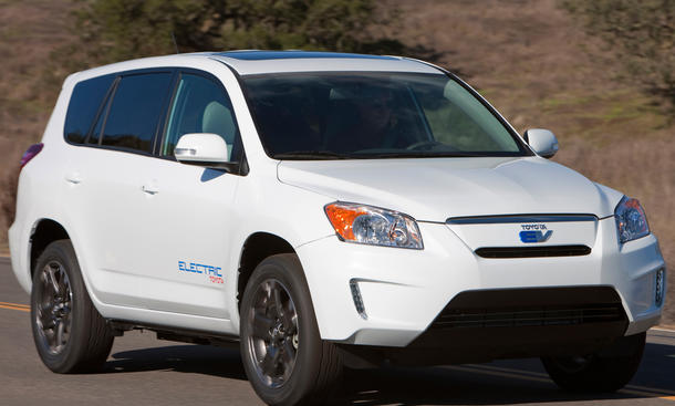Toyota Tesla-Aktien Verkauf Wertpapiere RAV4 EV Daimler