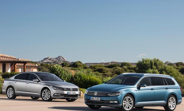 VW Passat B8 Limousine Kombi GTE Plug-in-Hybrid Alltrack Neuheiten Geländekombi