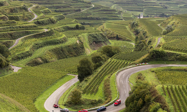 Alfa Romeo Giulietta Mercedes A 250 Sport Seat Leon Cupra Volvo V 40 T5 VW Golf GTI Vergleichstest Kompakt-Sportler Benziner
