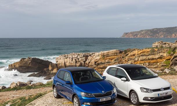 Skoda Fabia 1.4 TDI VW Polo 1.4 TDI Kleinwagen Vergleich