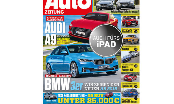 Auto Zeitung 25/2014 Heft-Vorschau Cover