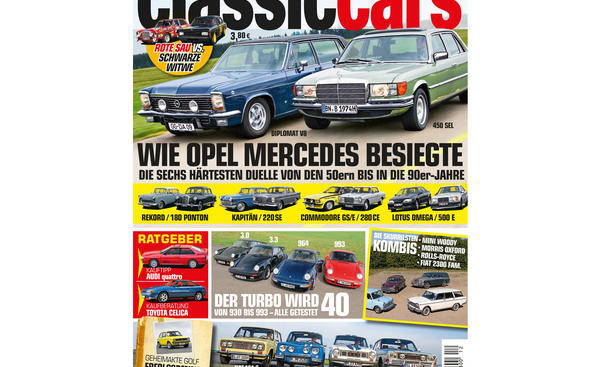 AUTO ZEITUNG Classic Cars 12 2014 Heft Vorschau Cover
