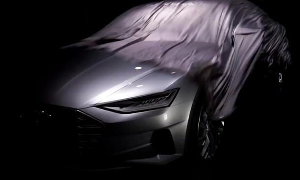 Audi A9 2014 LA Auto Show Concept Car Teaser Video Luxusklasse Studie