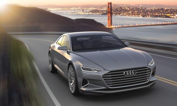 Audi A9 prologue concept 2014 la auto show Studie show car Bilder 0002