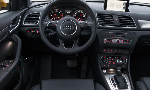 audi q3 2015 test automobil bau auto systeme. Black Bedroom Furniture Sets. Home Design Ideas