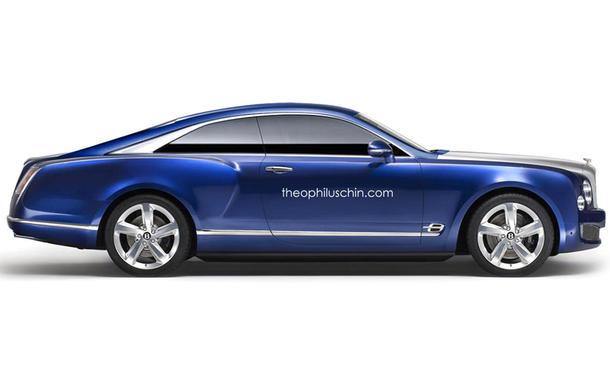 Bentley Grand Coupé Brooklands Nachfolger Luxuscoupé L.A. Auto Show Cabrio Studie