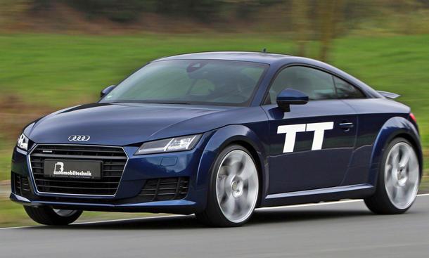 B&B Automobiltechnik Tuning Audi TT 2.0 TFSI 2014 8S Tieferlegung Leistungssteigerung