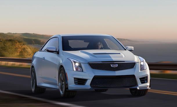 Cadillac ATS-V Coupé 2016 Mittelklasse Sportwagen LA Auto Show 2014 Premiere
