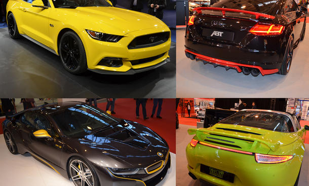 Essen Motor Show 2014 Tuning Rundgang Live Bilder Highlights