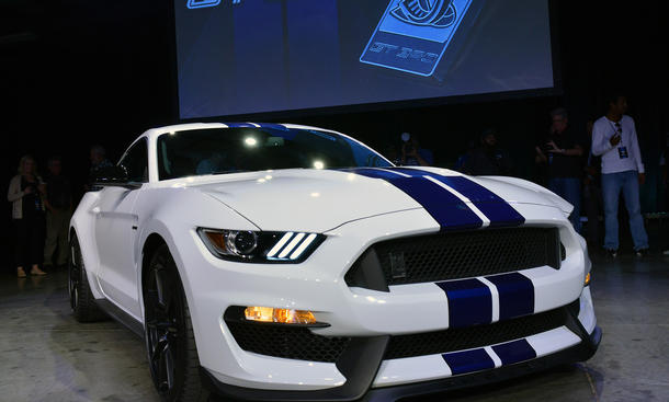 Ford Shelby GT350 Mustang 2014 Los Angeles Auto Show Muscle-Car Neuheiten