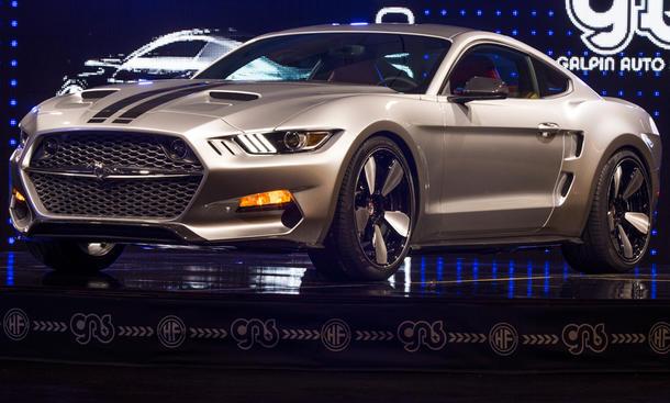 Galpin Auto Sports Rocket Ford Mustang 2015 LA Auto Show 2014 Henrik Fisker