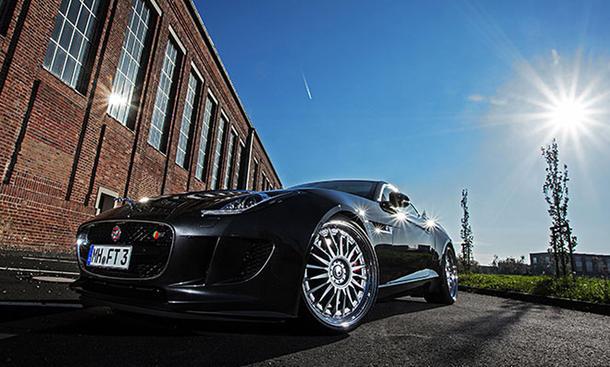 Jaguar F-Type Tuning Best Cars 2014 Sportwagen Sportfelgen Federn Leistungssteigerung