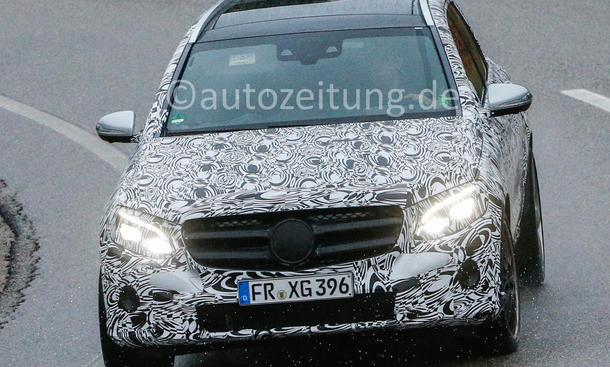 Mercedes-AMG GLC 63 2014 Erlkoenig Power Kompakt-SUV