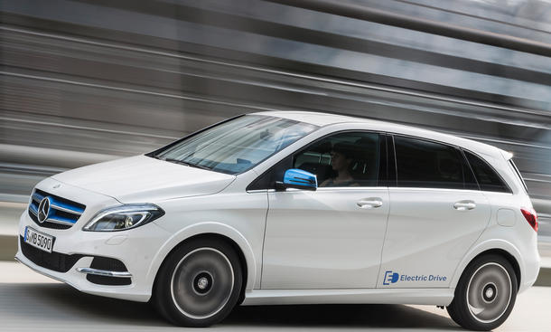 Mercedes B Klasse Electric Drive Preis Elektroauto 2014 Grundpreis