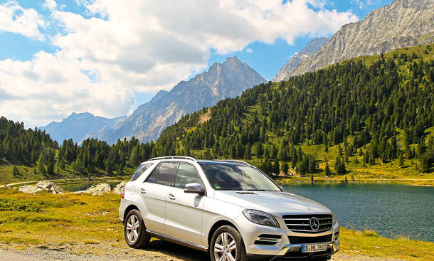Mercedes ML 350 BlueTEC SUV Dauertest 100.000 km Abschlussbericht Fazit