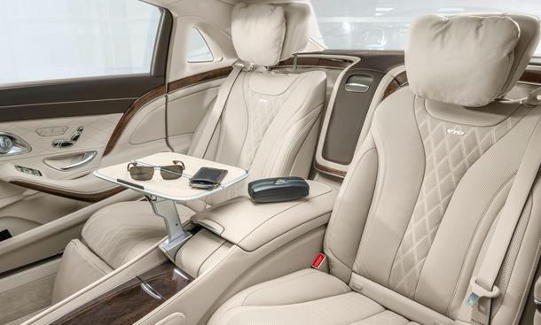 Mercedes S Klasse Maybach 2015 LA Auto Show 2014 Luxus Limousine 0002