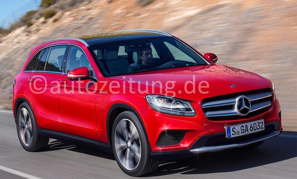 SUV Neuheiten Modelle Mercedes GLC Bilder
