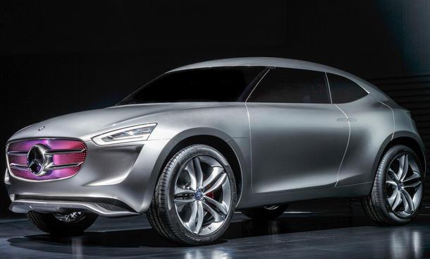 Mercedes Vision G-Code Studie SUC Concept Car Asien Neuheiten