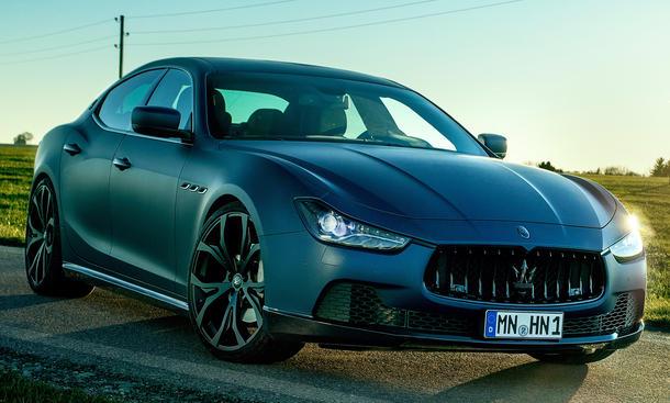 Novitec Maserati Ghibli Tuning 2014 Oberklasse Limousine