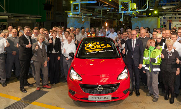 Opel Corsa 2014 Produktion Werk Eisenach Produktionsstart