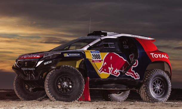 Peugeot 2008 DKR Rallye Dakar 2015 Crossover Motorsport Offroad