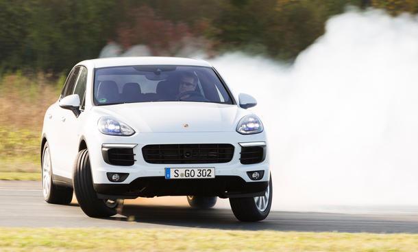 Porsche Cayenne S Diesel 2014 Facelift Test SUV Sportler